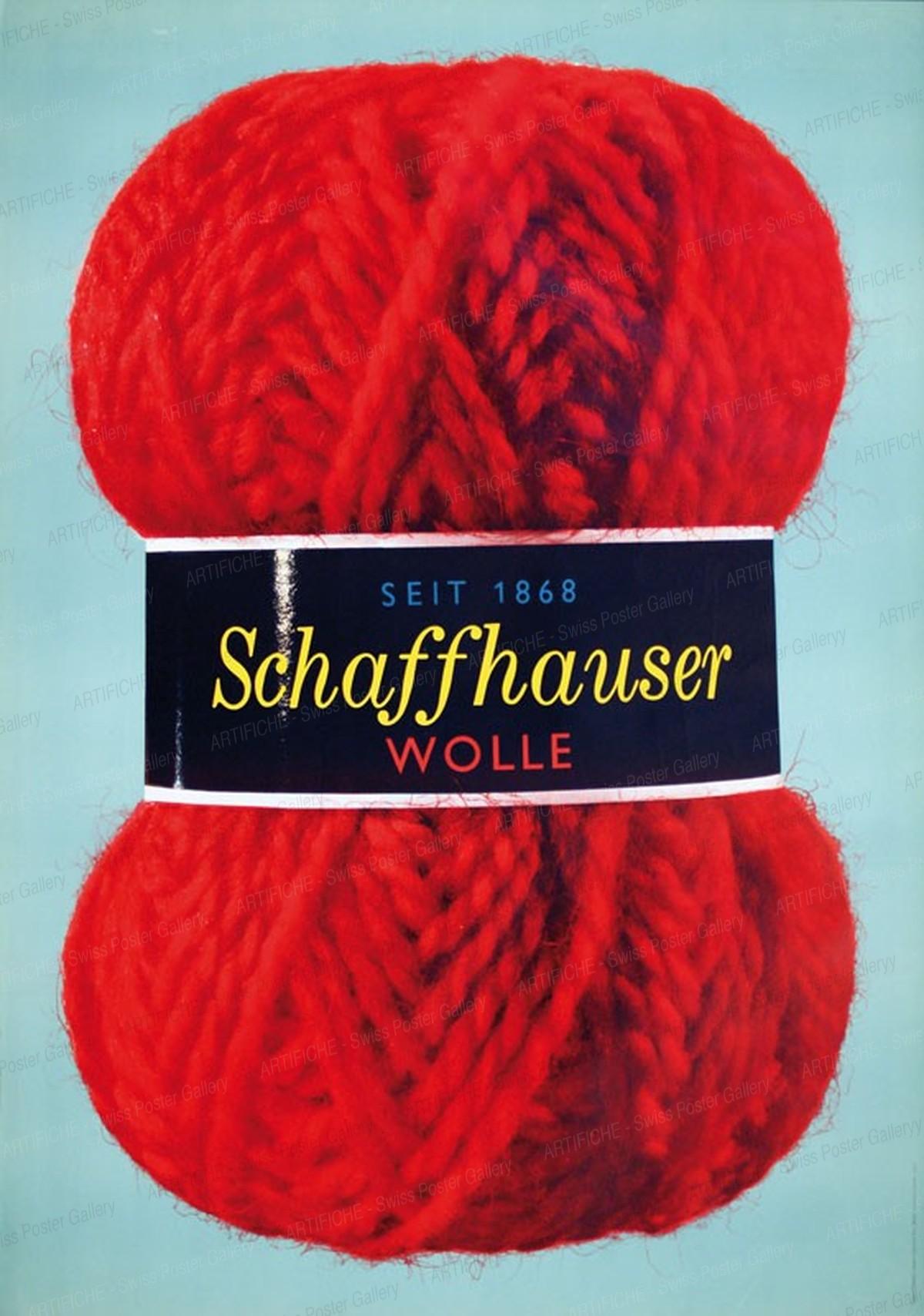Seit 1868 Schaffhauser Wolle, Herbert Leupin
