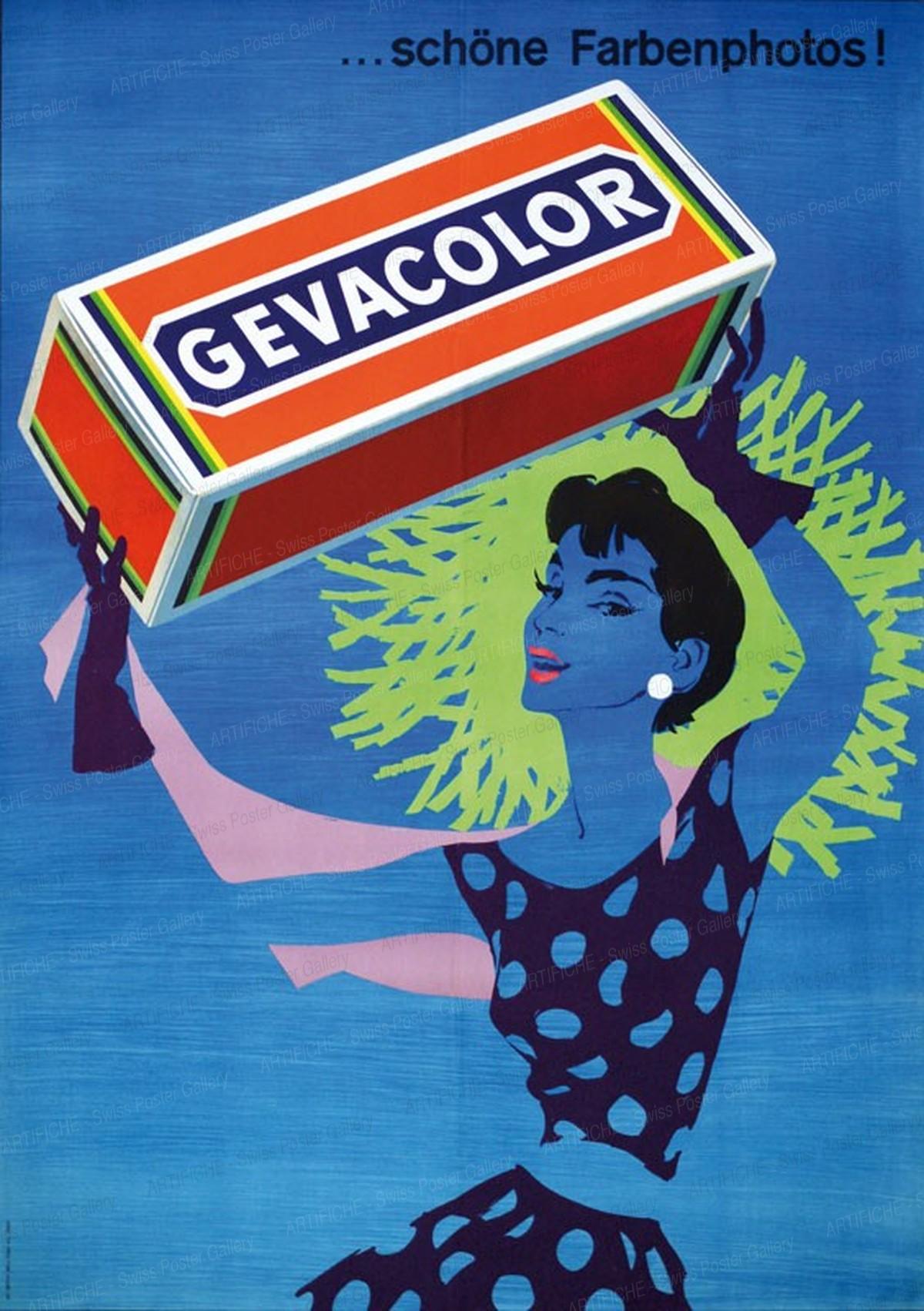 GEVACOLOR – schöne Farbenphotos, Donald Brun
