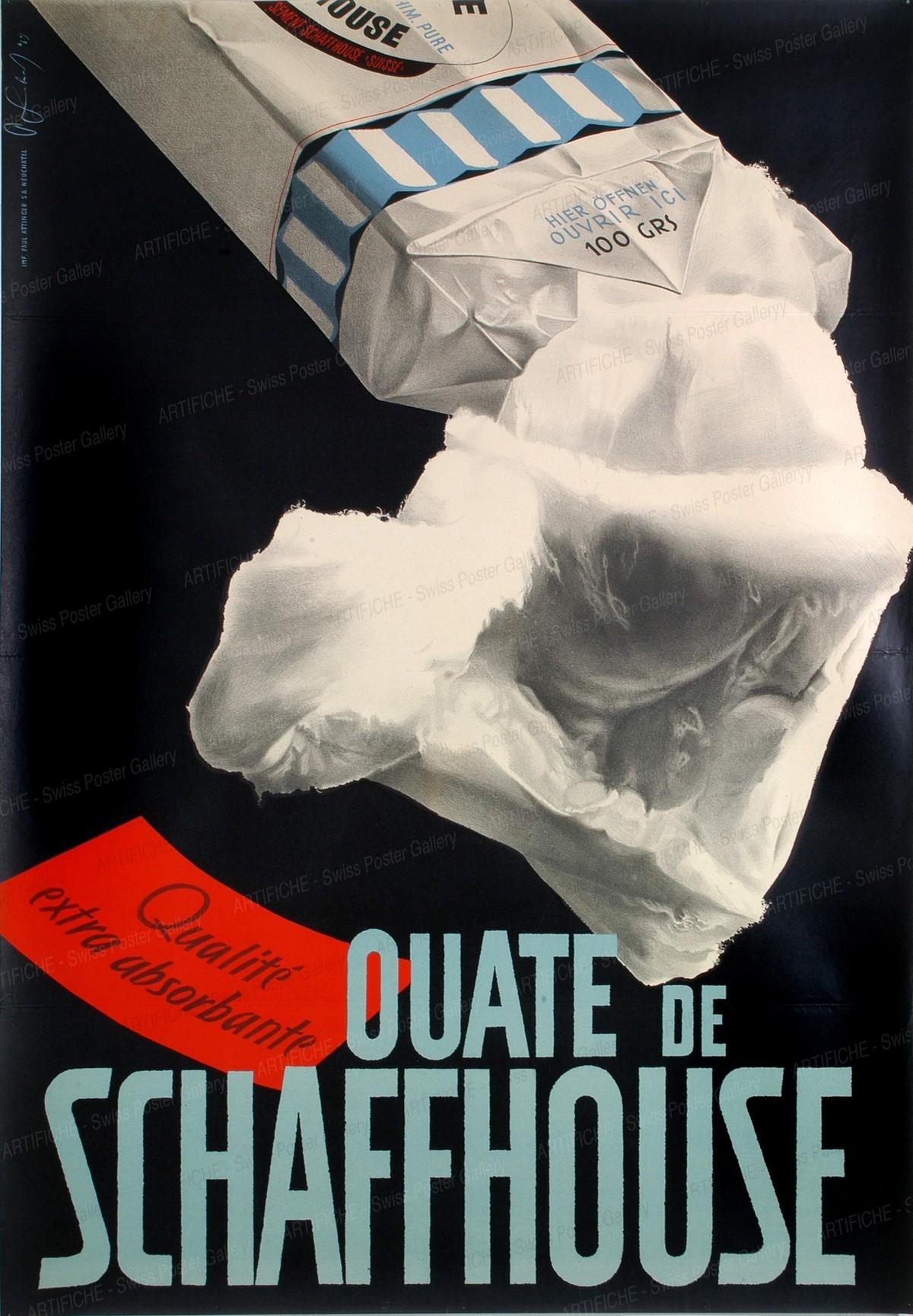 OUATE DE SCHAFFHOUSE, Pierre Gauchat