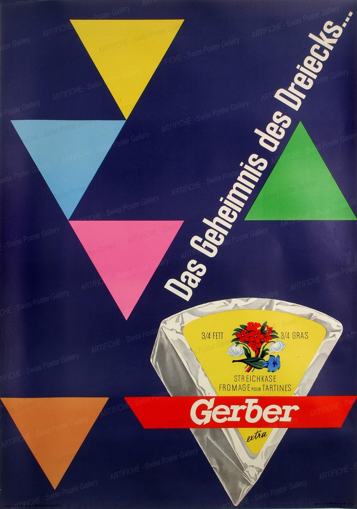 Gerber Streichkäse – Das Geheimnis des Dreicks…, Erny / Aeschbacher