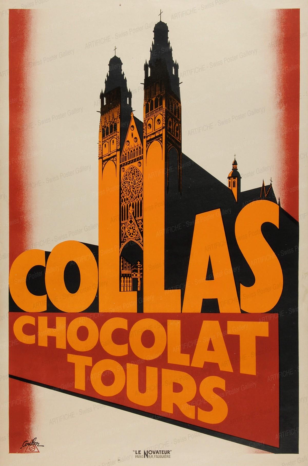 COLLAS Chocolat Tours, Eric de Coulon