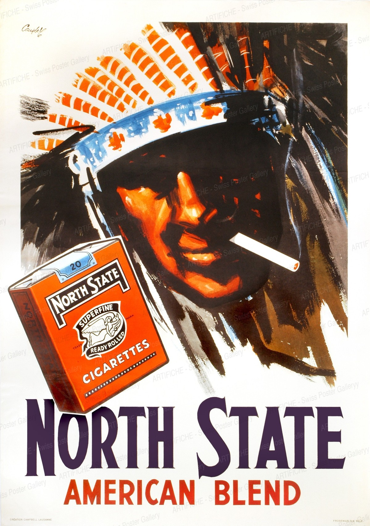 NORTH STATE – American Blend, Marcus Campbell