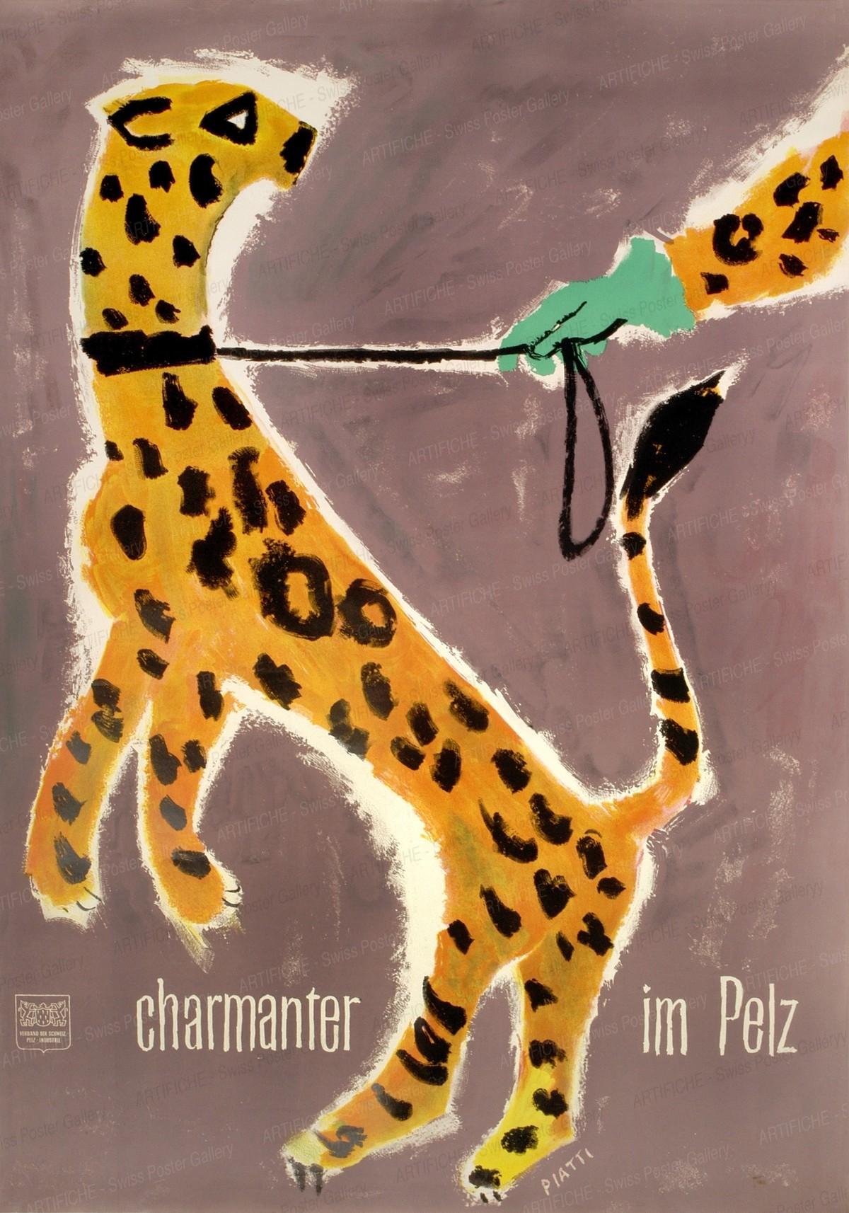 charmanter im Pelz, Celestino Piatti