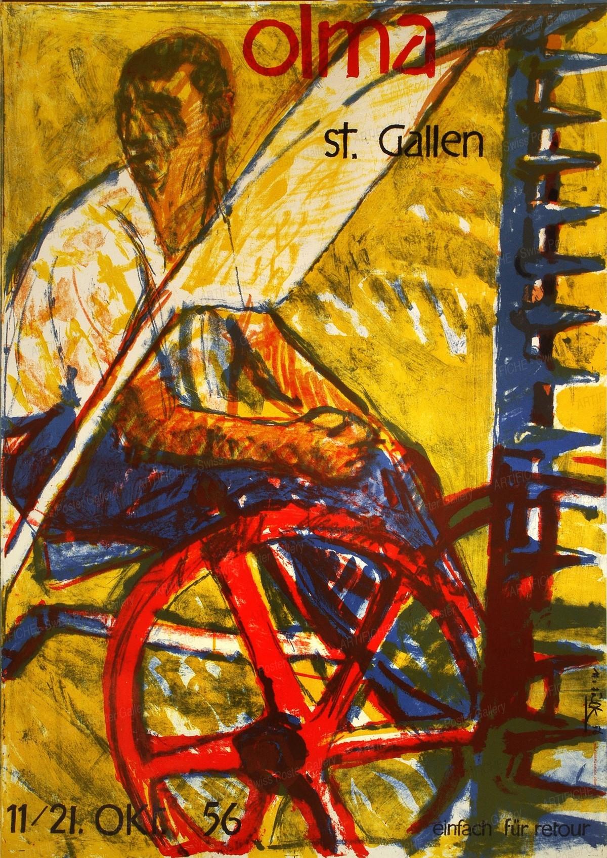 Olma St. Gallen 11. – 21. Oktober 1956, Hans Falk