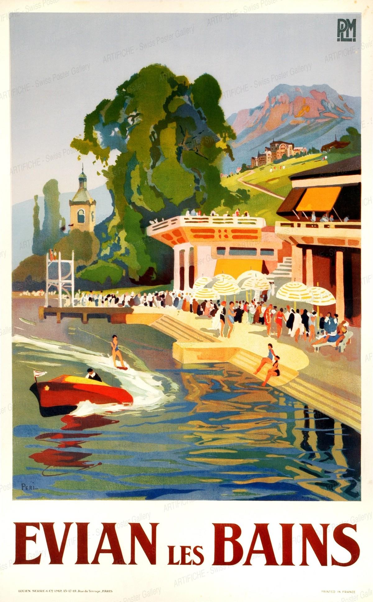 Evian-Les-Bains PLM, Péri Lucien