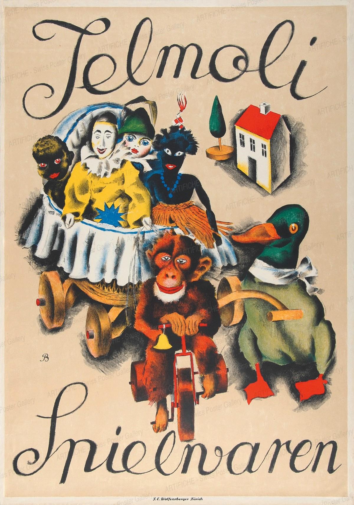Jelmoli – Spielwaren, Otto Baumberger