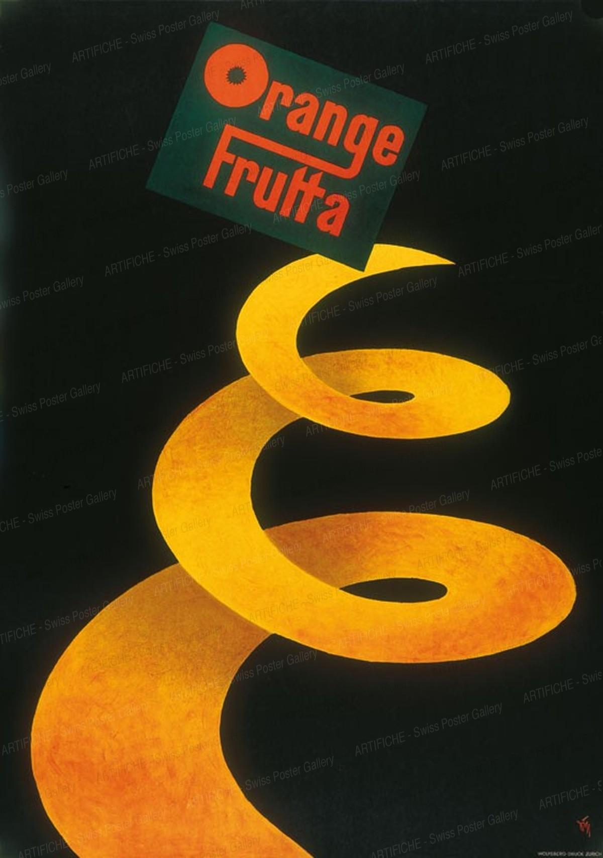 Orange – Frutta, Alex Walter Diggelmann