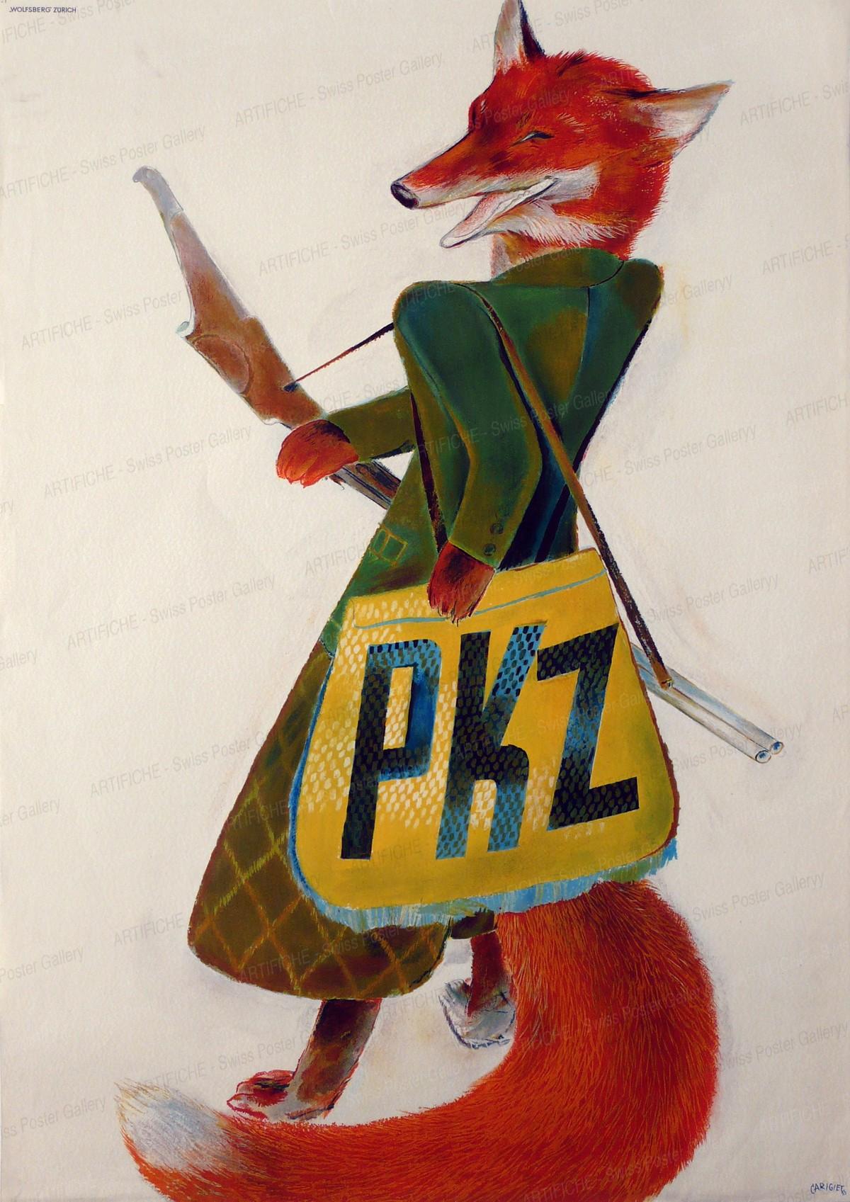 PKZ, Alois Carigiet