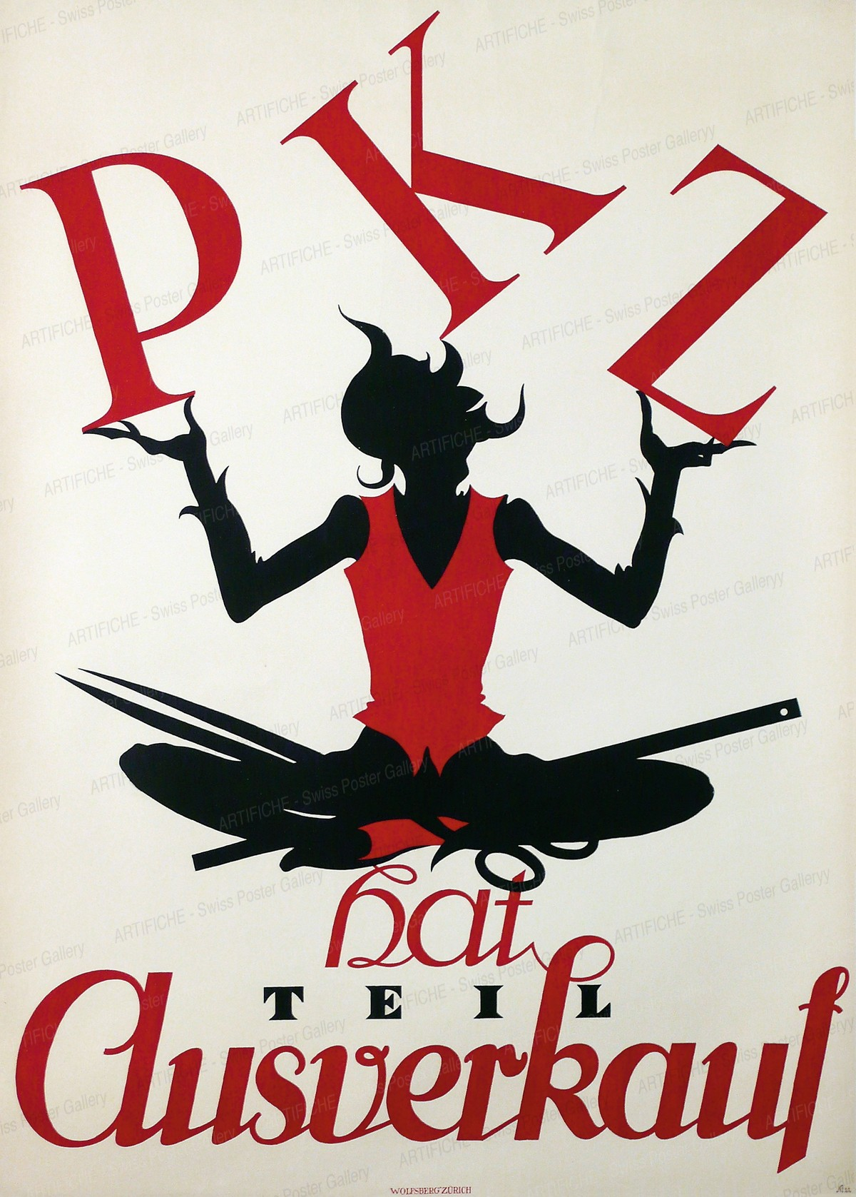 PKZ hat Teil-Ausverkauf, Otto Baumberger