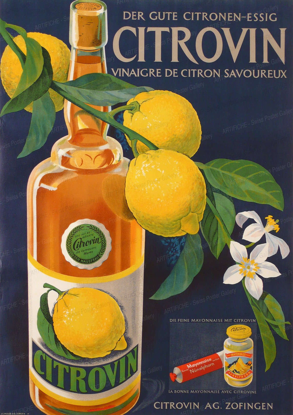 CITROVIN – Vinegar, Artist unknown