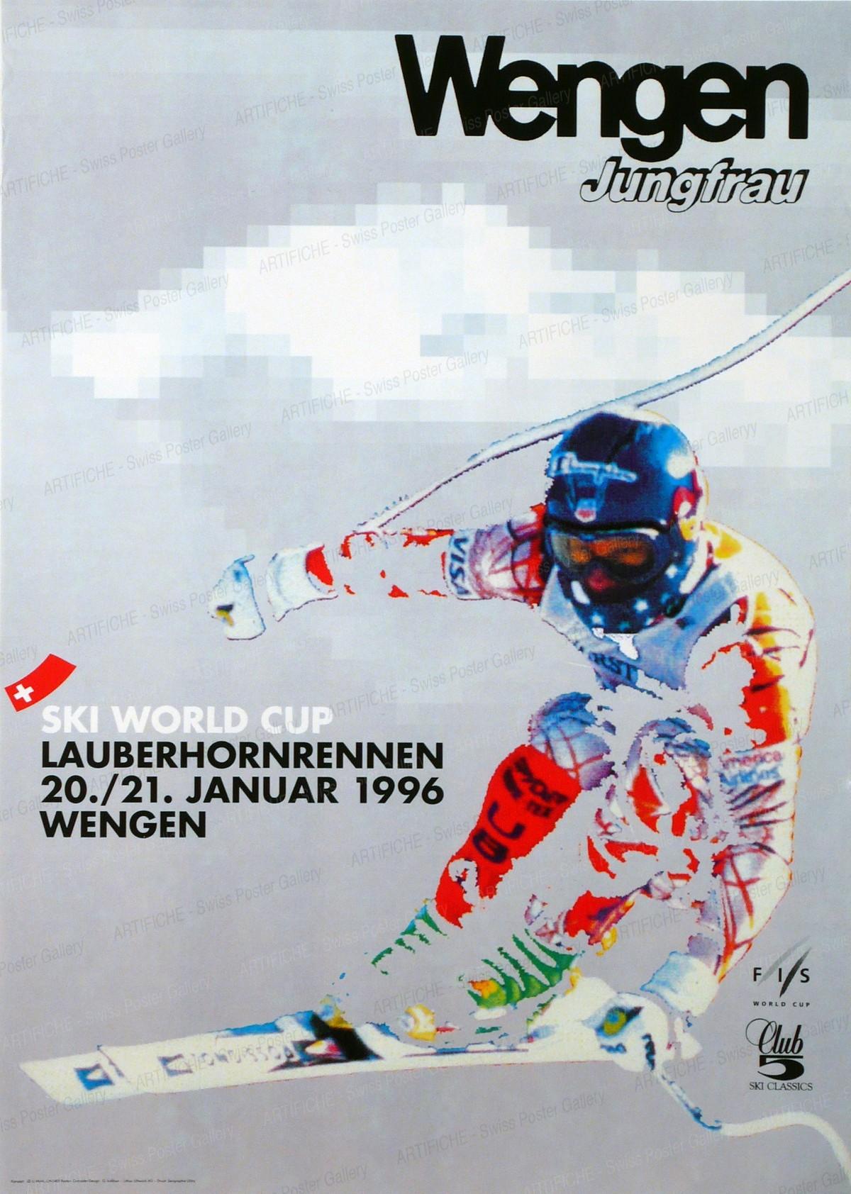Wengen – Jungfrau – Ski World Cup – Lauberhornrennen 20./21. Januar 1996, Ueli Marti