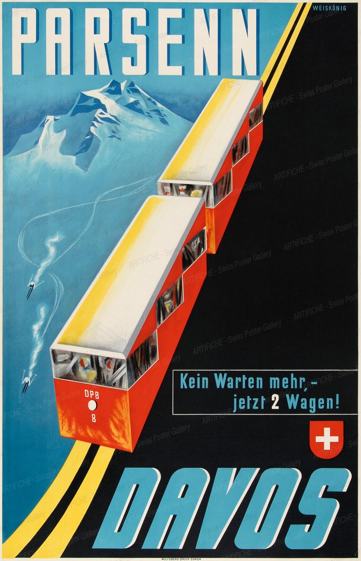 DAVOS PARSENN – Kein Warten mehr – jetzt 2 Wagen!, Werner Weiskönig