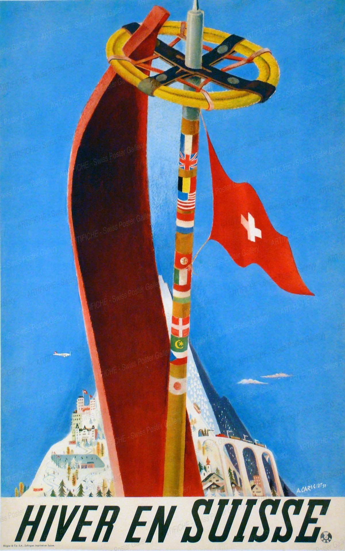 Hiver en Suisse, Alois Carigiet