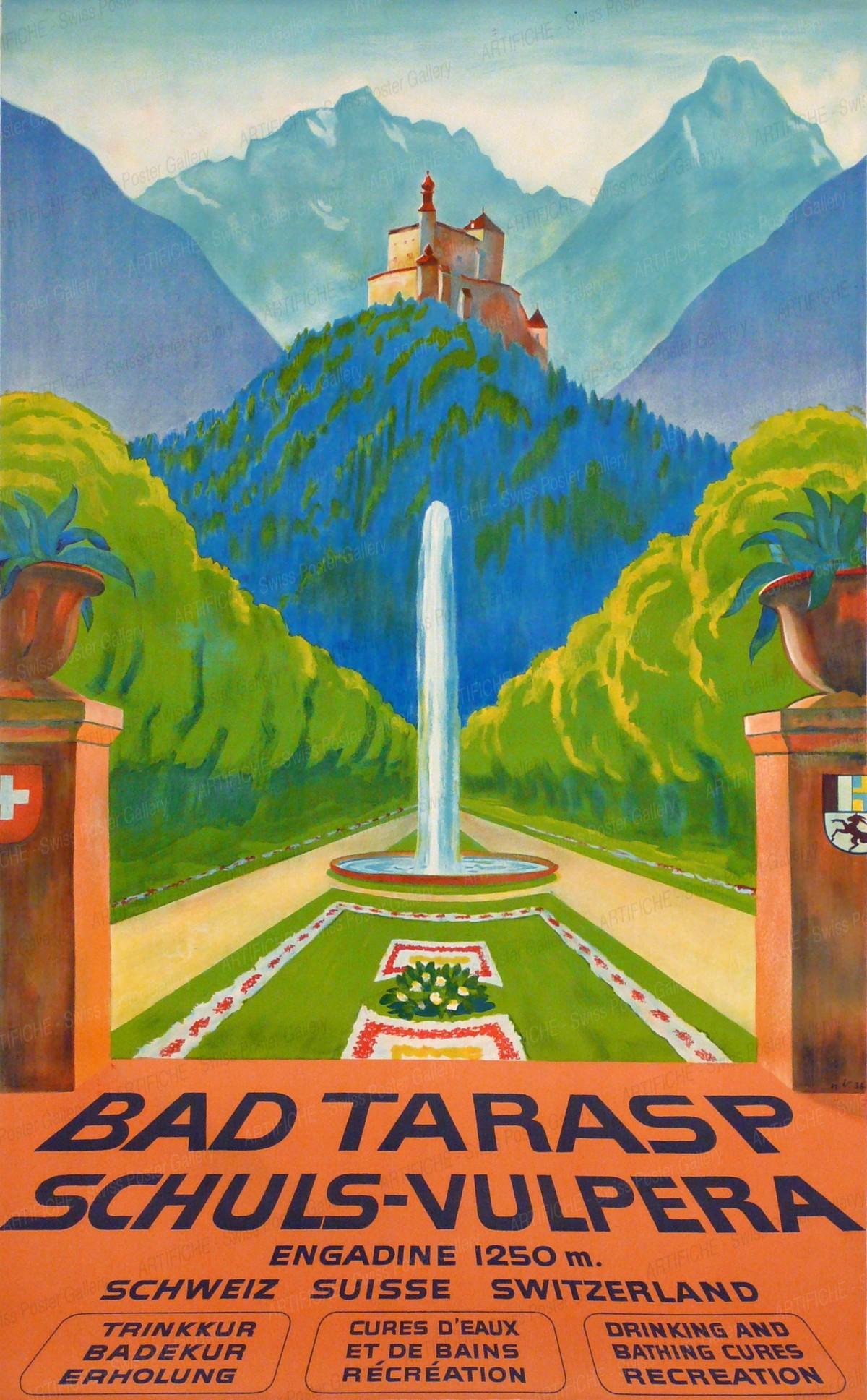 BAD TARASP-SCHULS-VULPERA, Hugo Laubi