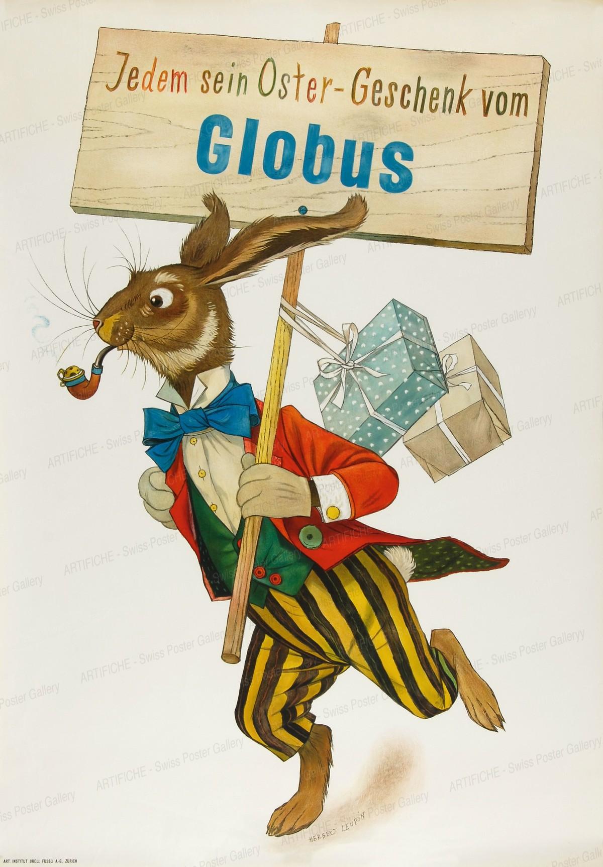Globus Department Store – Easter, Herbert Leupin