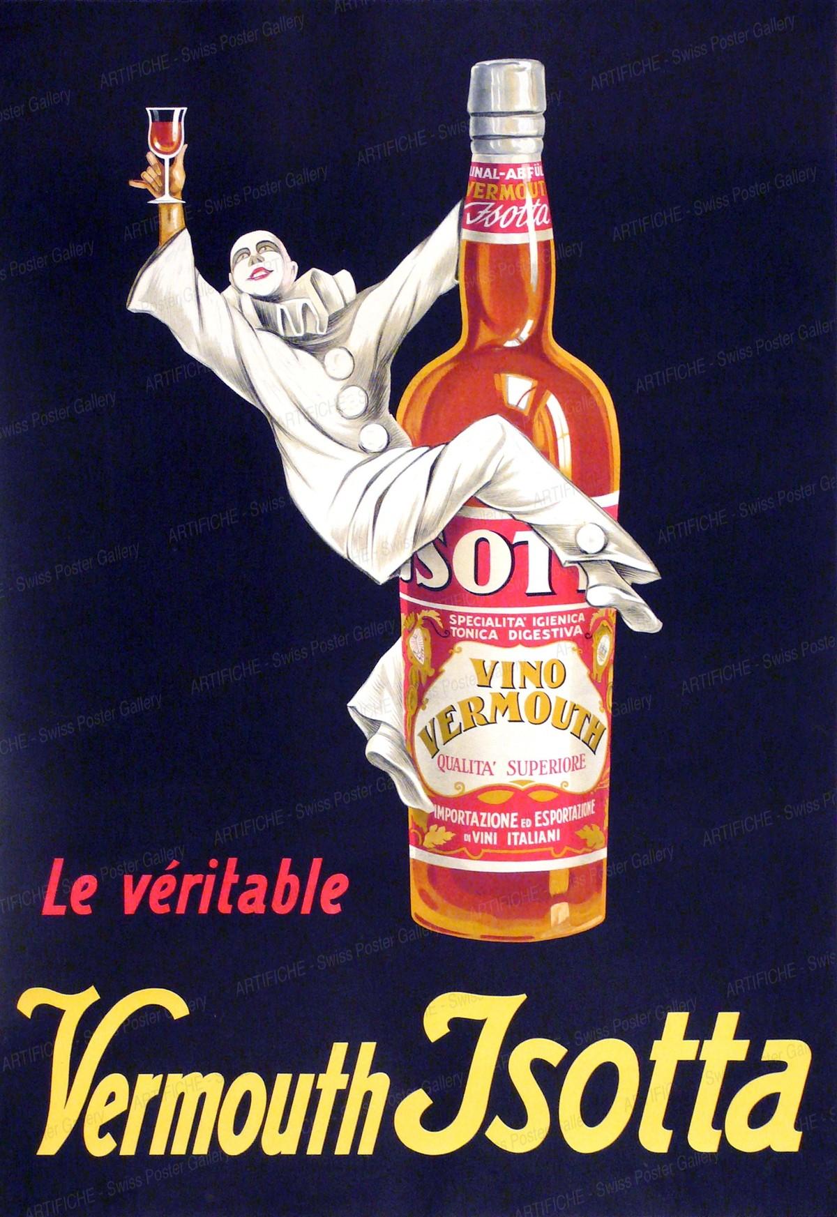 La véritable Vermouth Jsotta, Reno Ernst Jungel