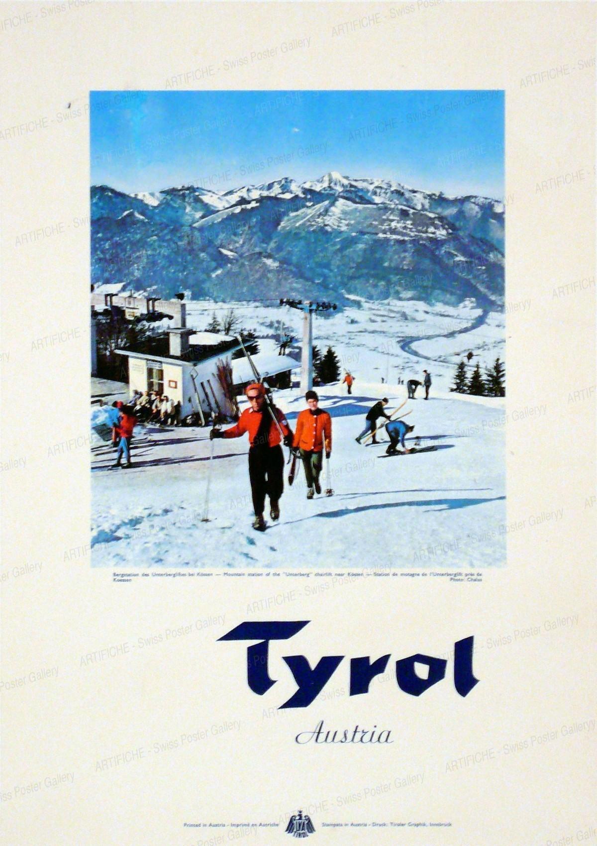 Tyrol Austria, Monogram B.P.