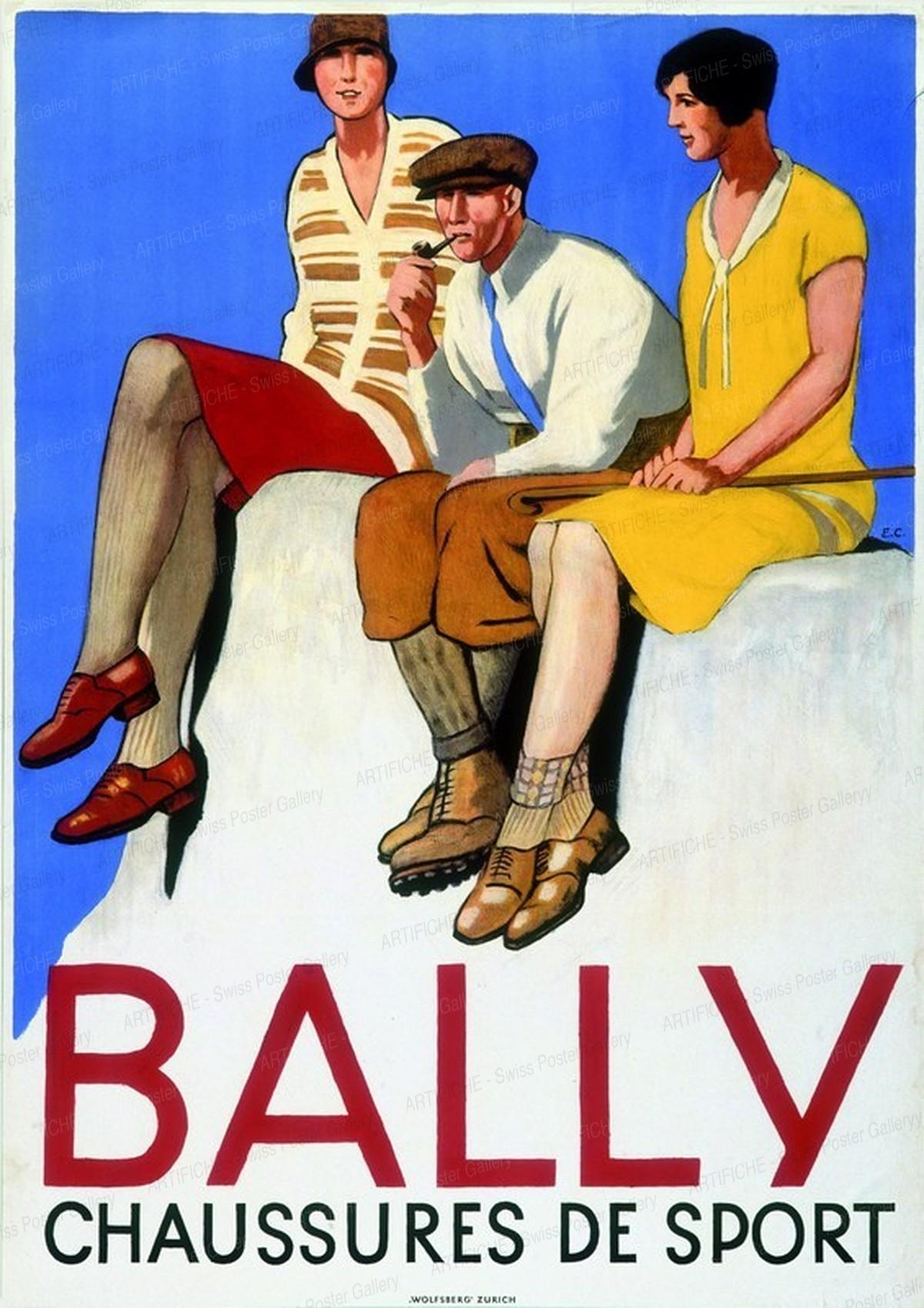 BALLY – Chaussures de Sport, Emil Cardinaux