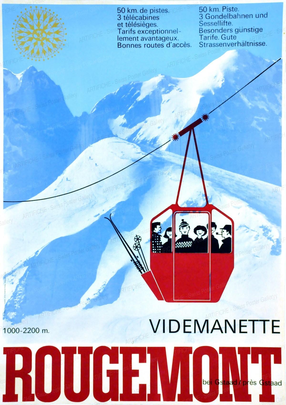 Videmanette ROUGEMONT bei Gstaad – près Gstaad, Bernard Cuendet