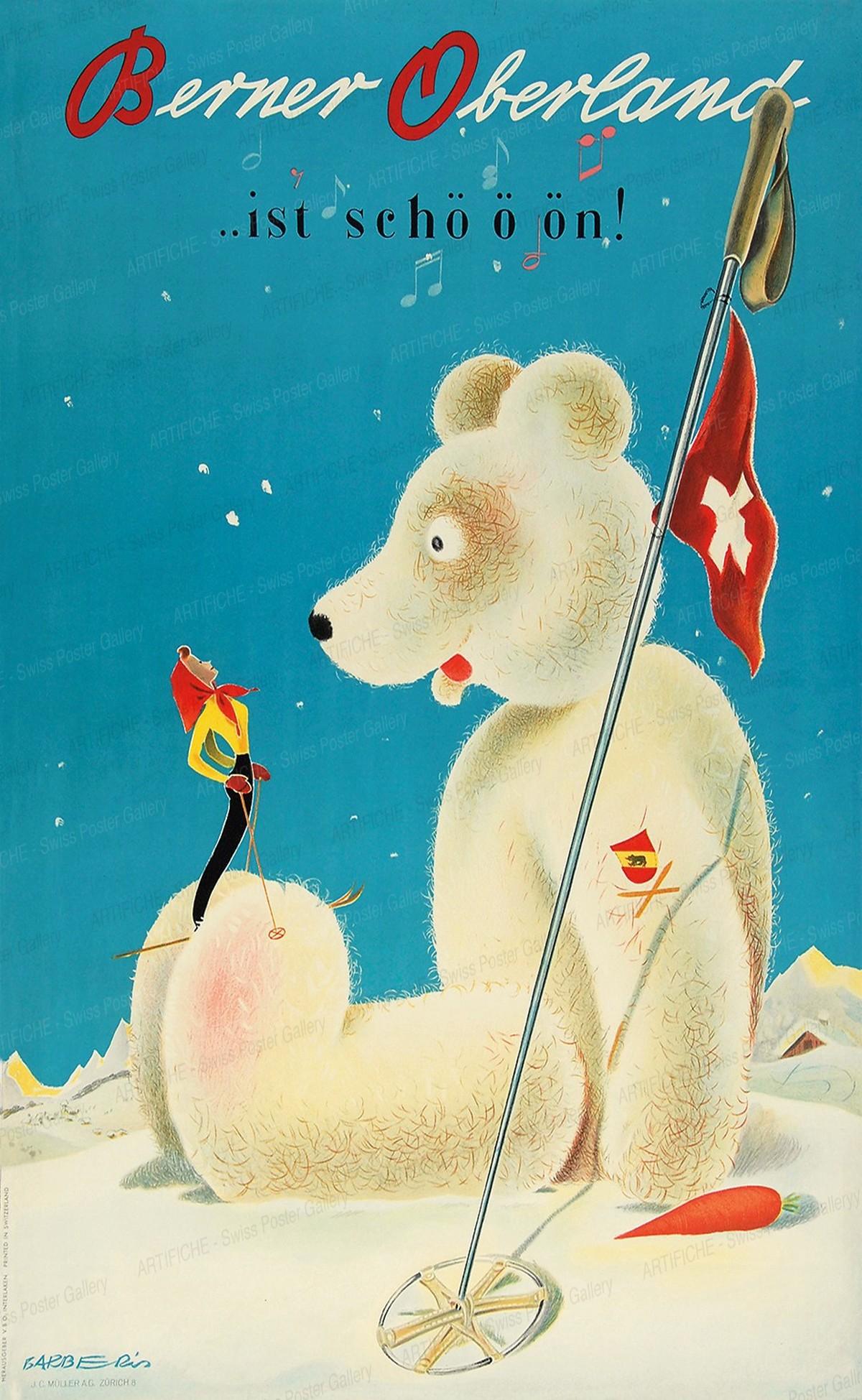 Berner Oberland … ist schööön!, Franco Barberis