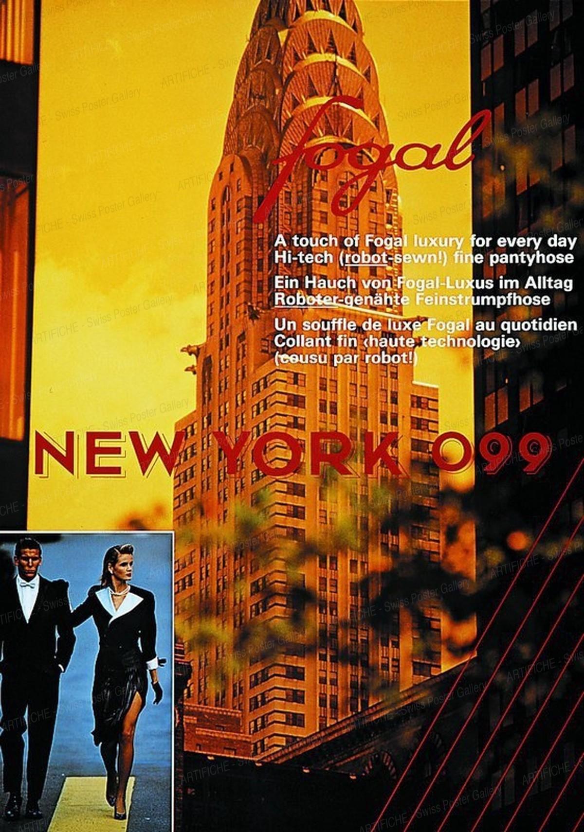 Fogal – NEW YORK 099, Ernst Wirz