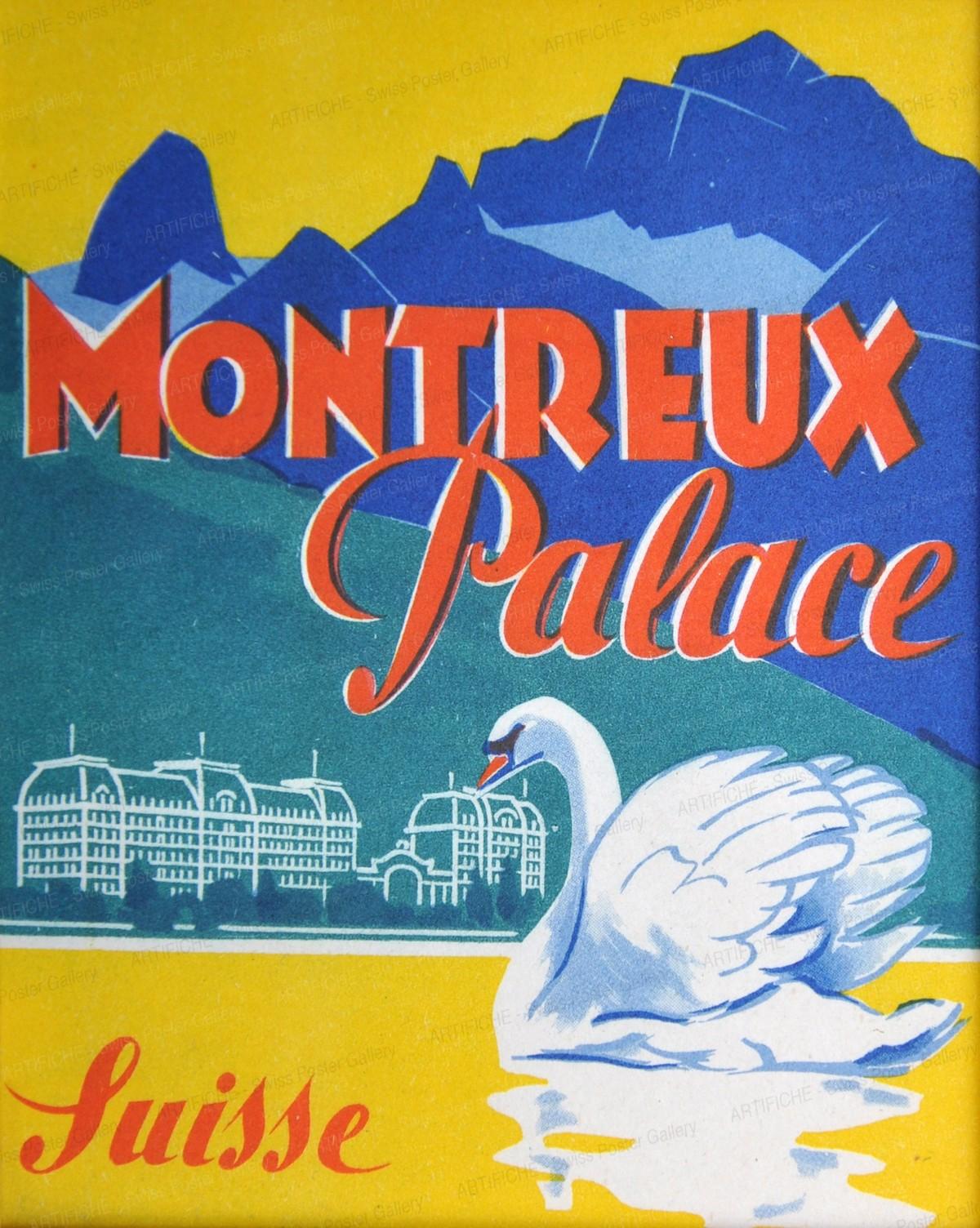 Montreux Palace Suisse, Artist unknown