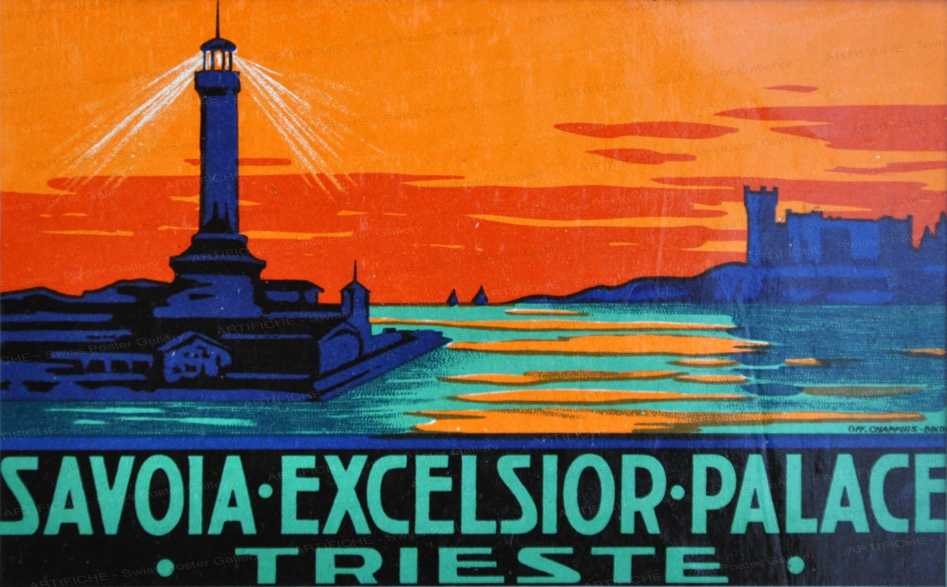 Savoia Excelsior Palace Trieste, Artist unknown
