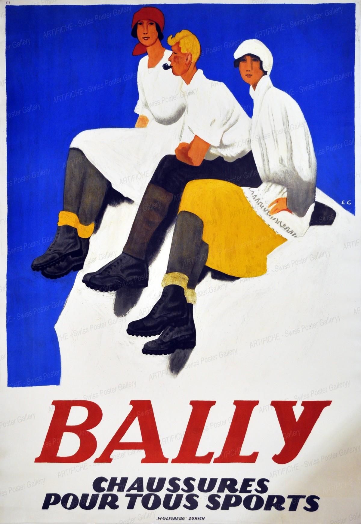 BALLY – Chaussures pour tous sport, Emil Cardinaux