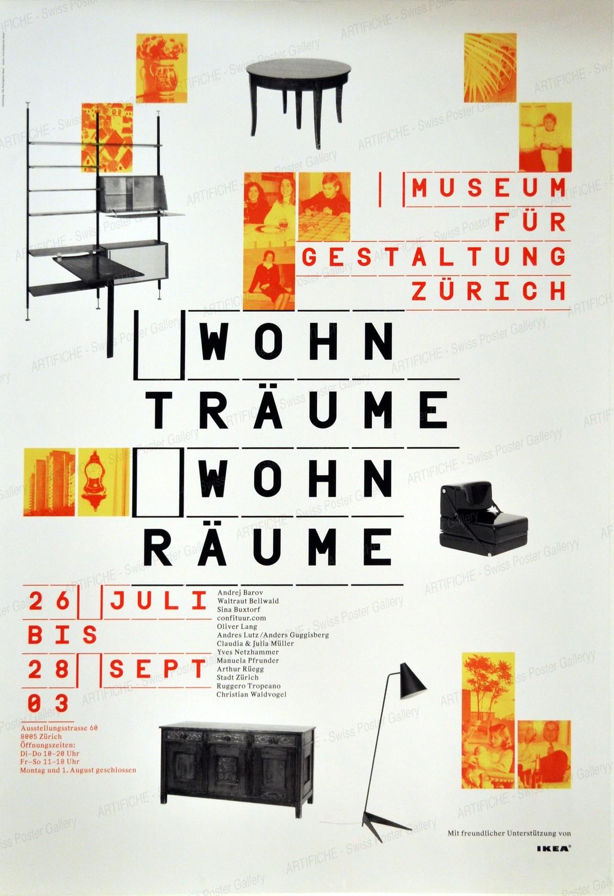 Museum für Gestaltung Zürich – Wohnträume – Wohnräume, The Remingstons Basel