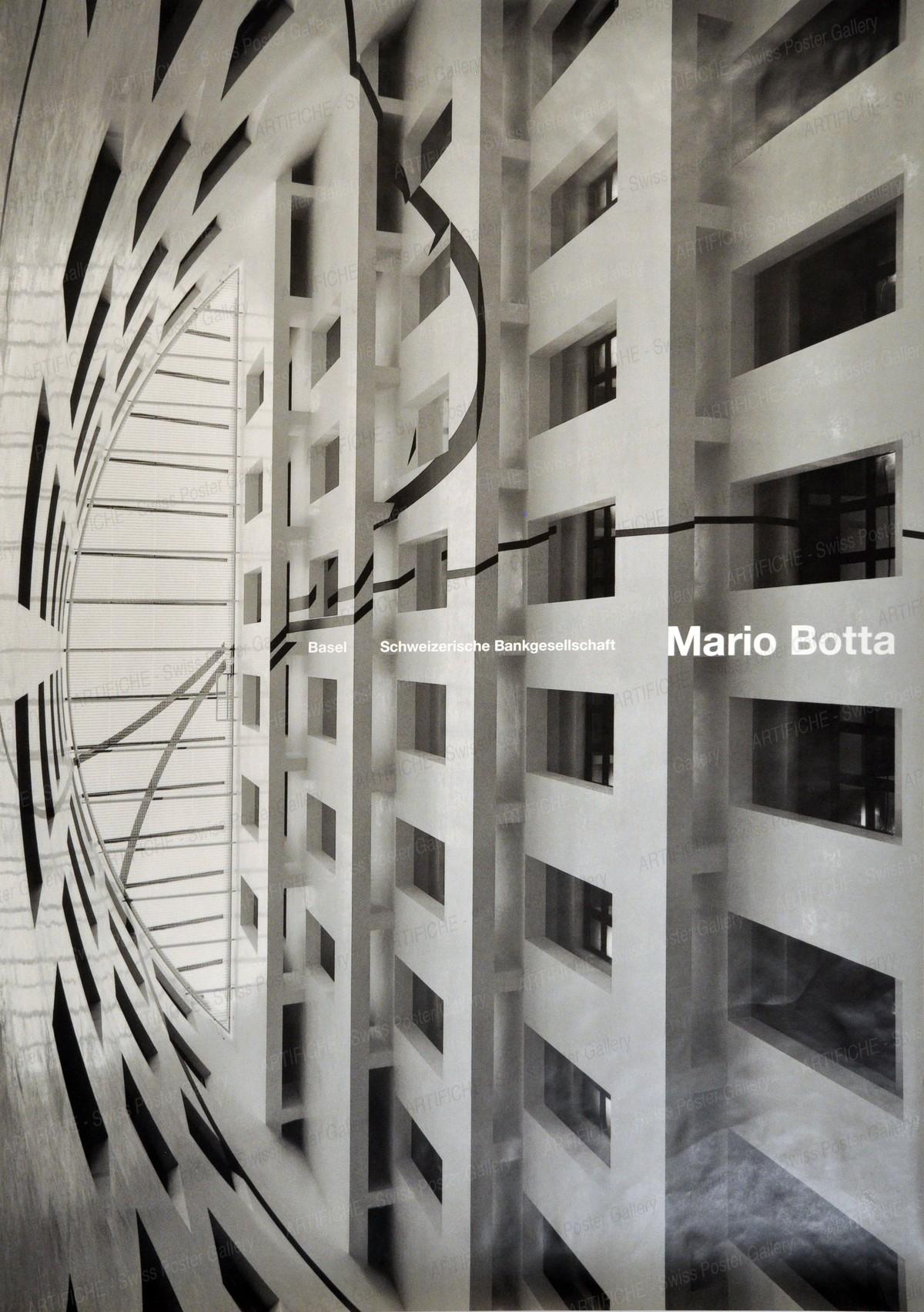 Basel – Schweizerische Bankgesellschaft – Mario Botta, Werner Jeker