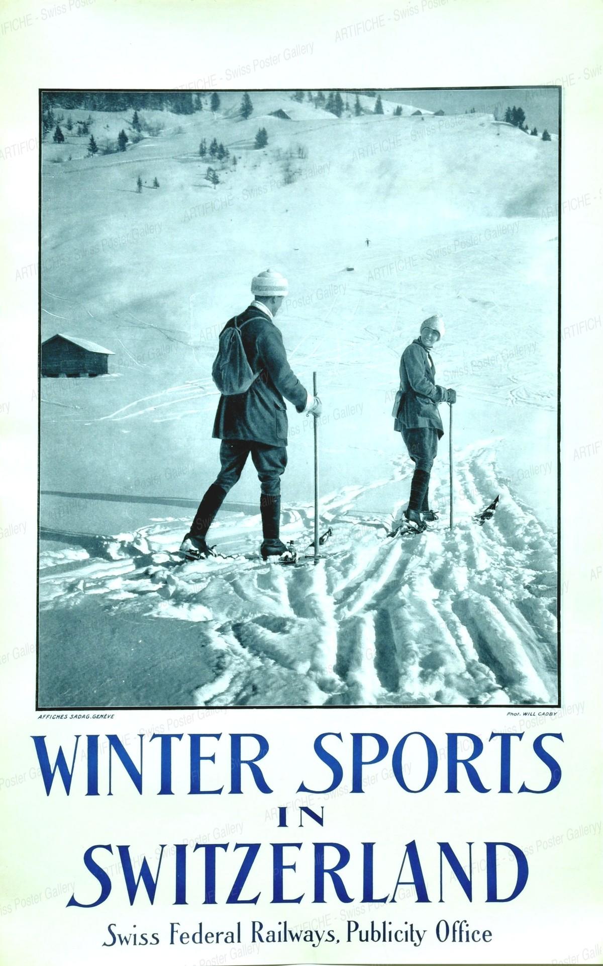Winter Sports in Switzerland, Will (Photo) Cadby