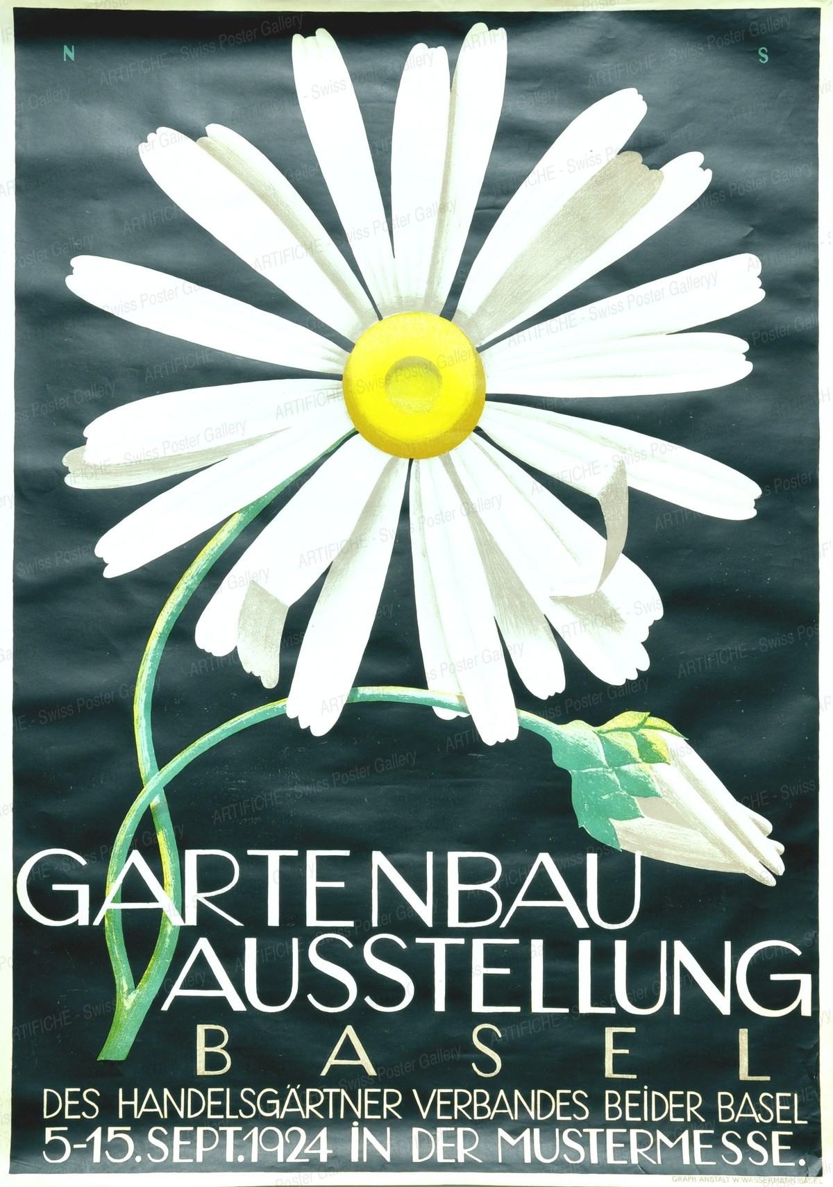 Horticultural Exhibition – Basel, Niklaus Stoecklin