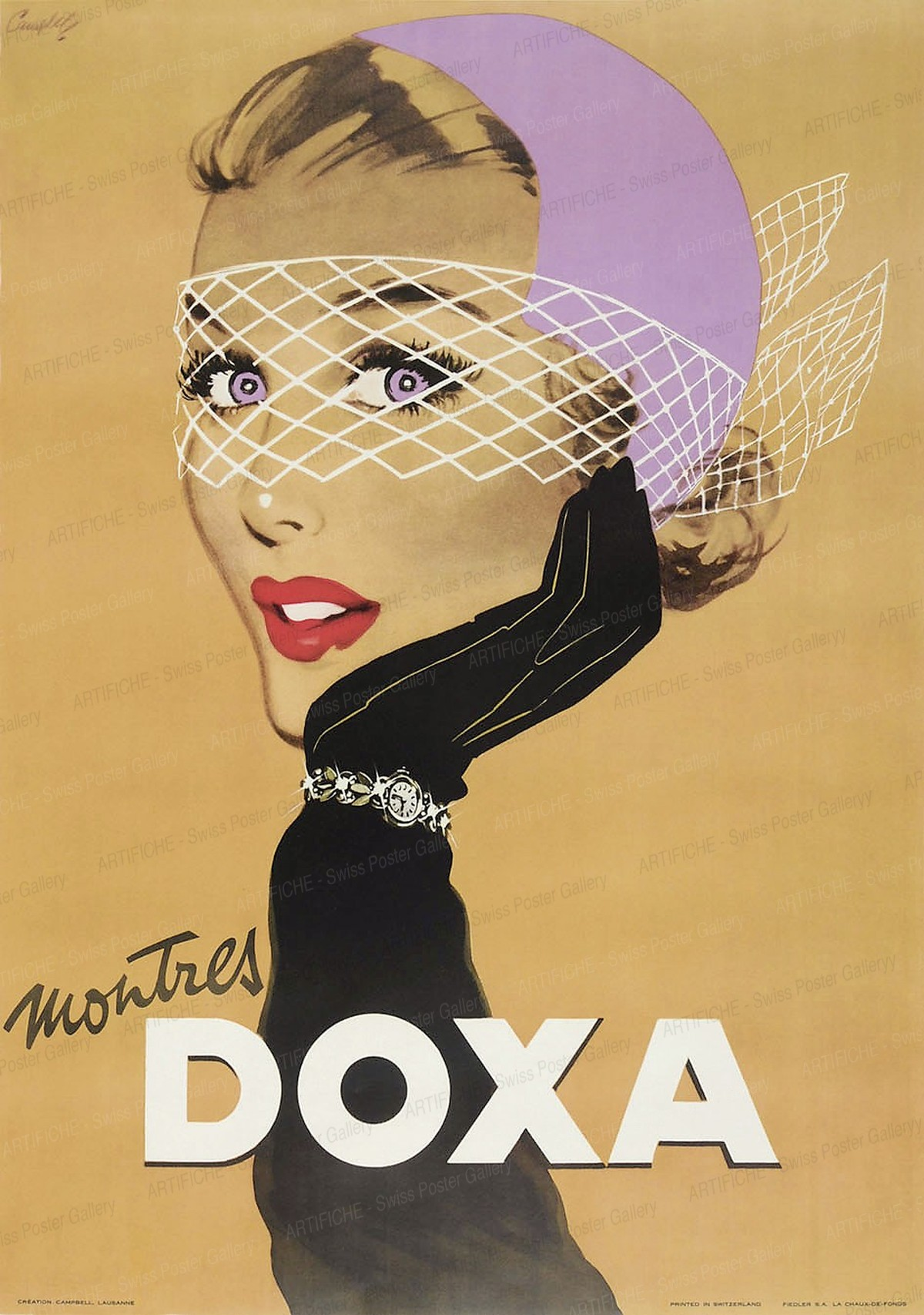 Montres DOXA, Marcus Campbell