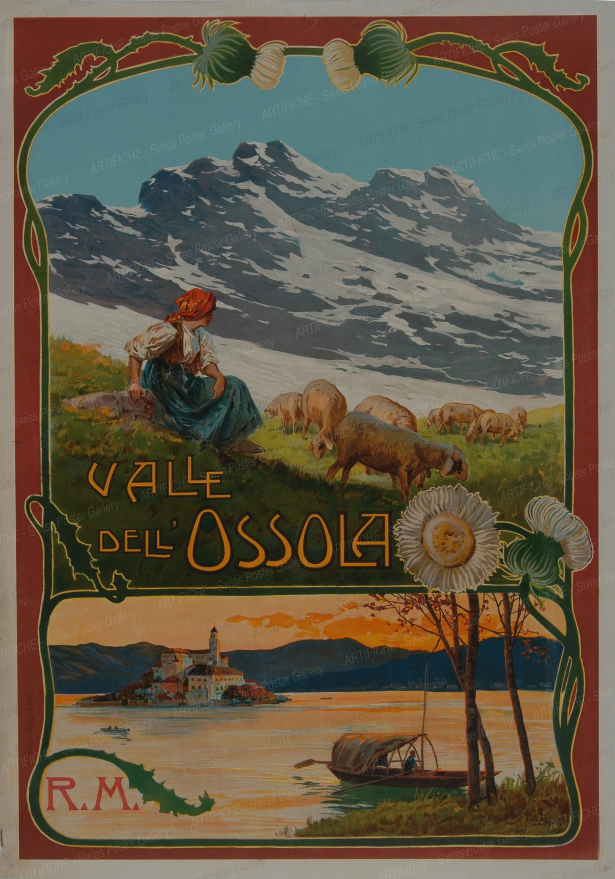VALLE DELL OSSOLA, R.M., Artist unknown