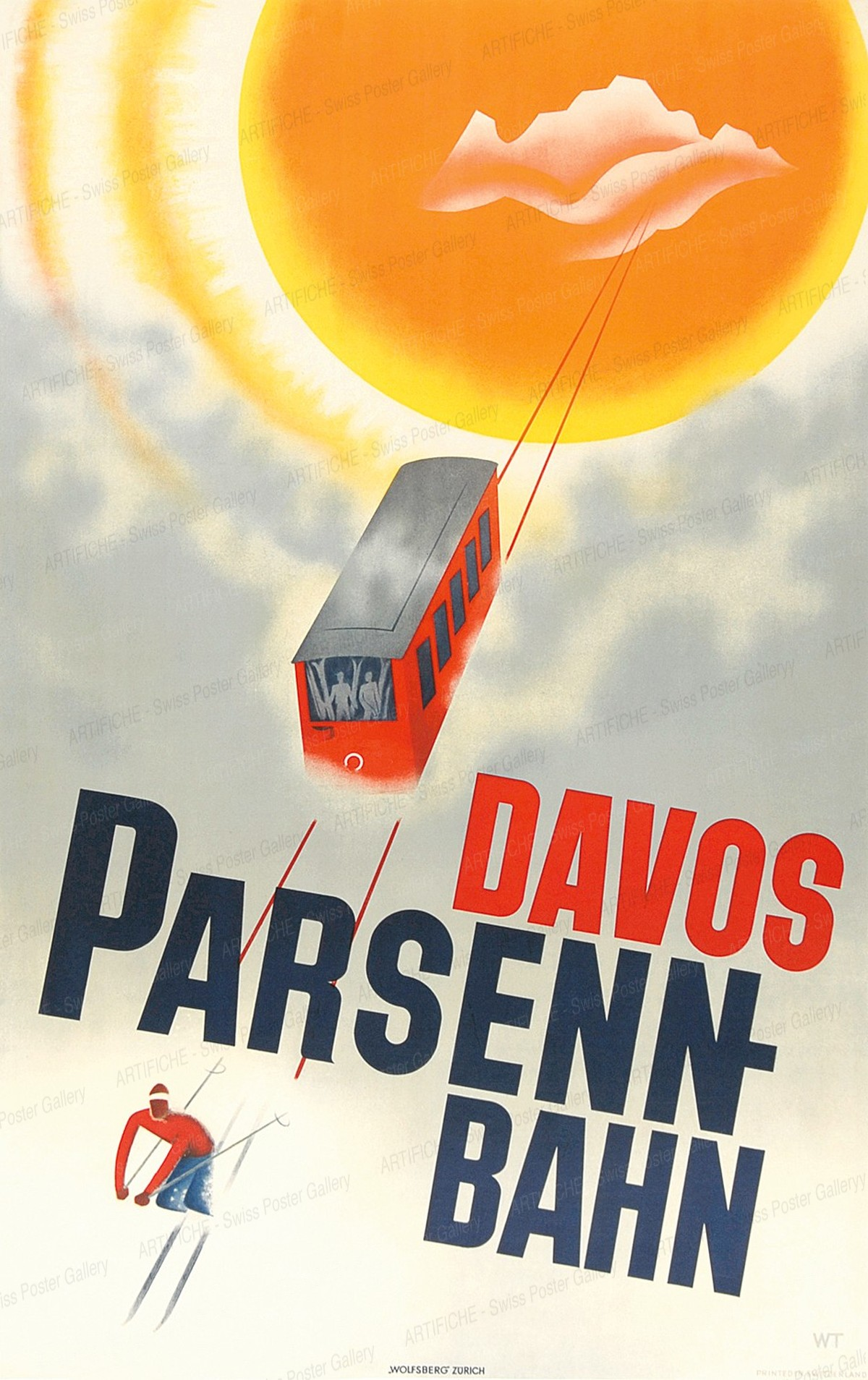 DAVOS Parsenn-Bahn, Willy Trapp