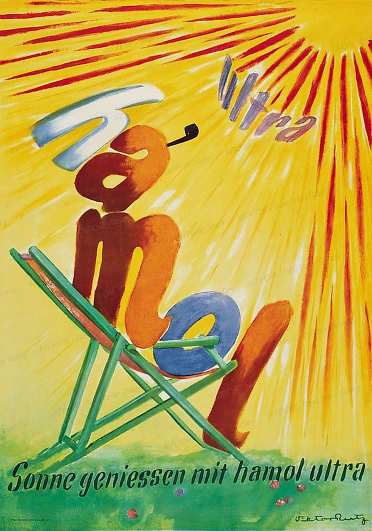 Hamol – Sonne geniessen mit hamol ultra, Viktor Rutz