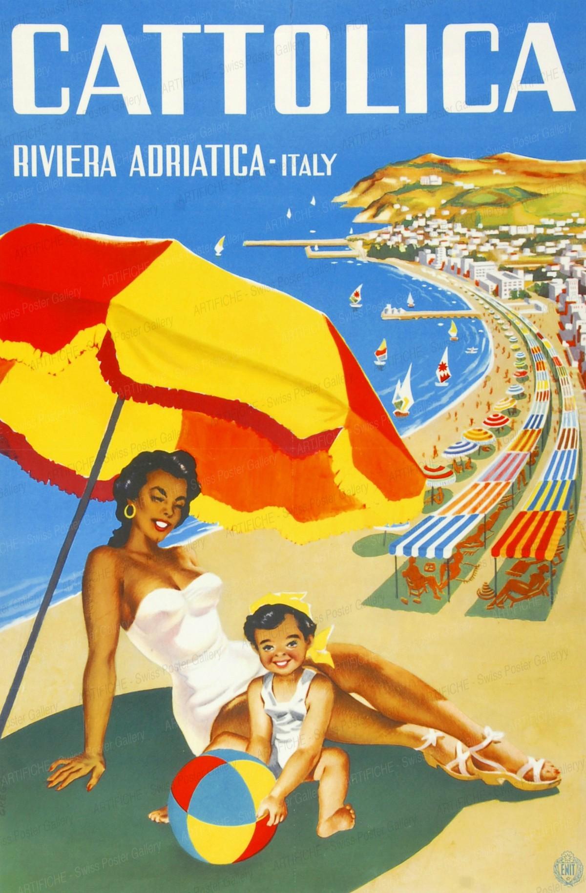 CATTOLICA Riviera ADRIATICO, Artist unknown