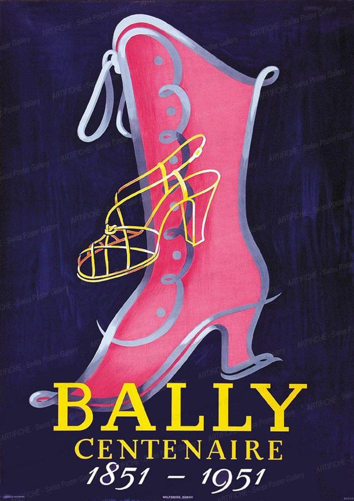 Bally Centenaire 1851 -1951, Arthur Suter