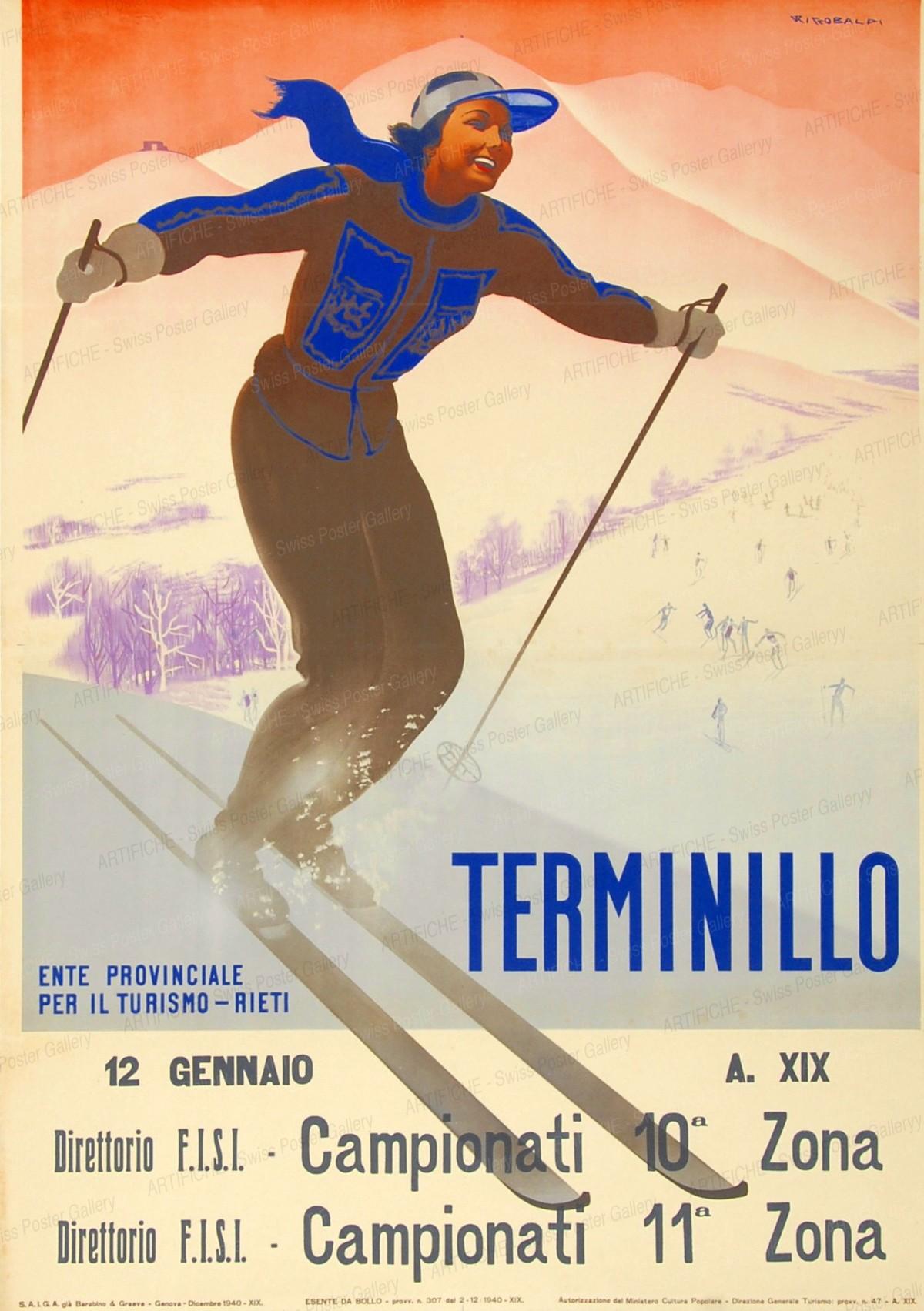 Terminillo, Giuseppe Riccobaldi