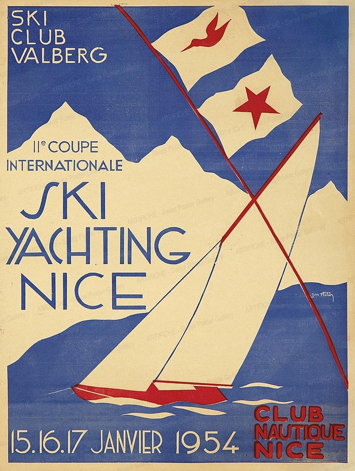 Ski Club Valberg – Ski Yachting Nice, J.M. Hupon