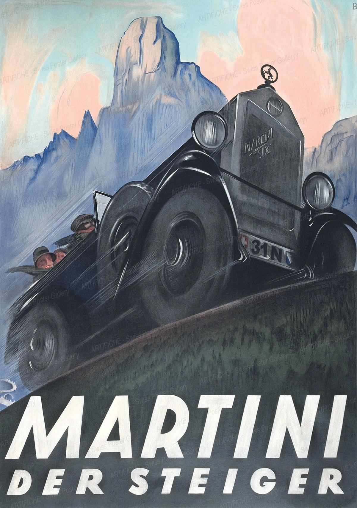 MARTINI – DER STEIGER, Otto Baumberger