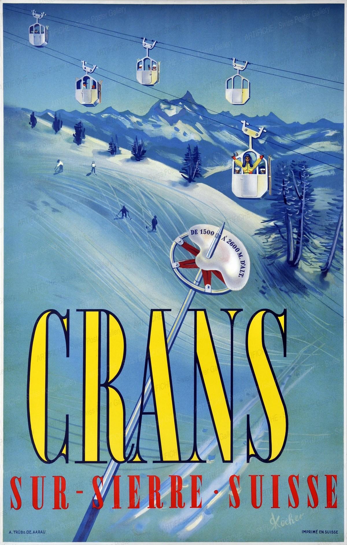 CRANS-SUR-SIERRE SUISSE, Ronald Kocher