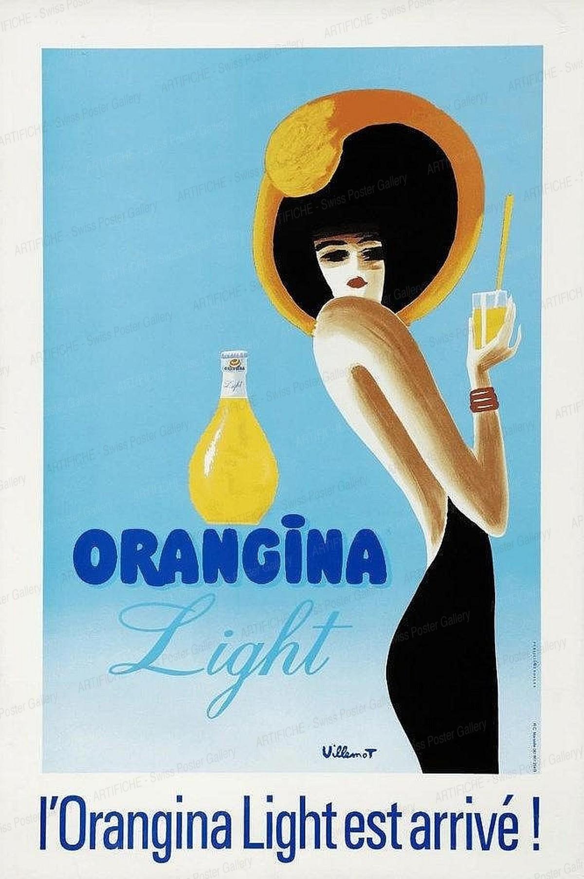 Orangina Light est arrivée!, Bernard Villemot