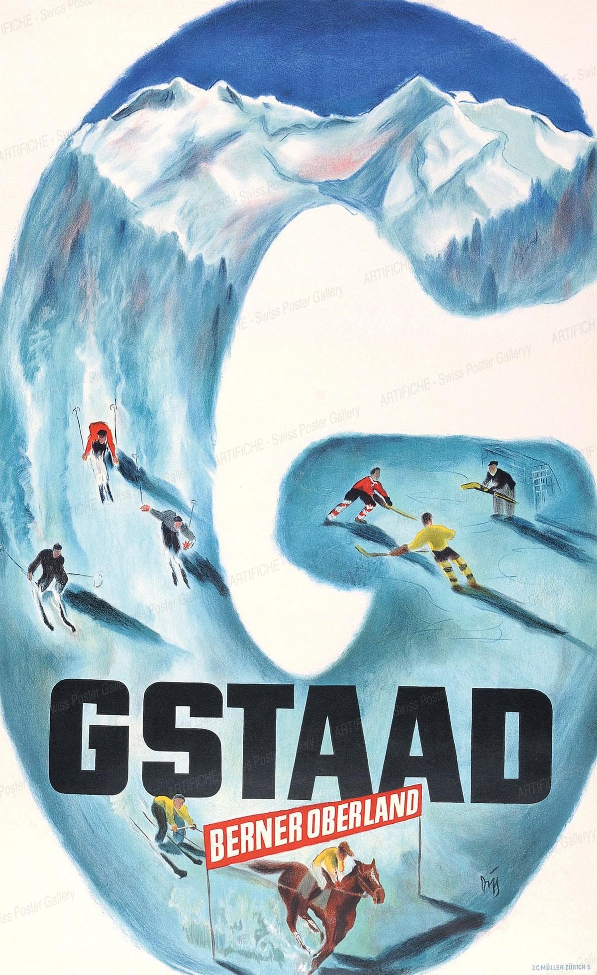 GSTAAD Berner Oberland, Alex Walter Diggelmann