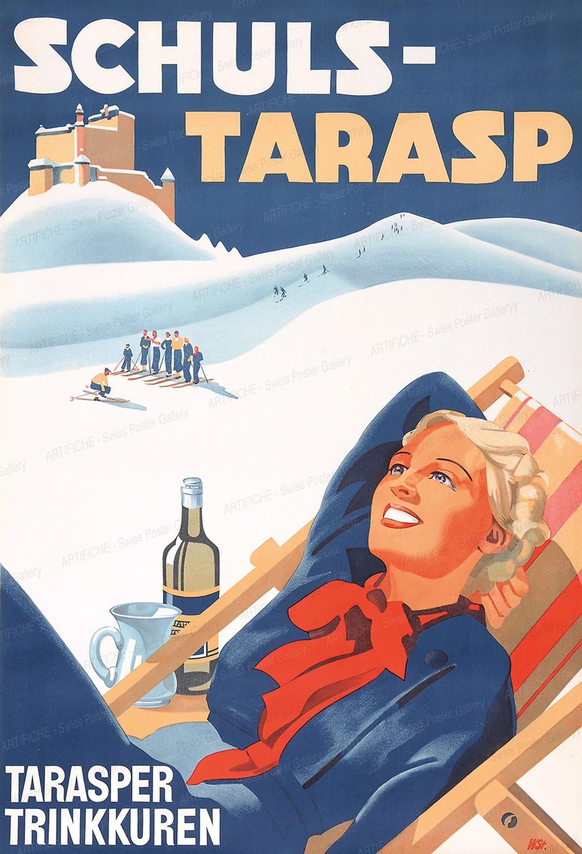 Scuol Tarasp, W. Stauffer