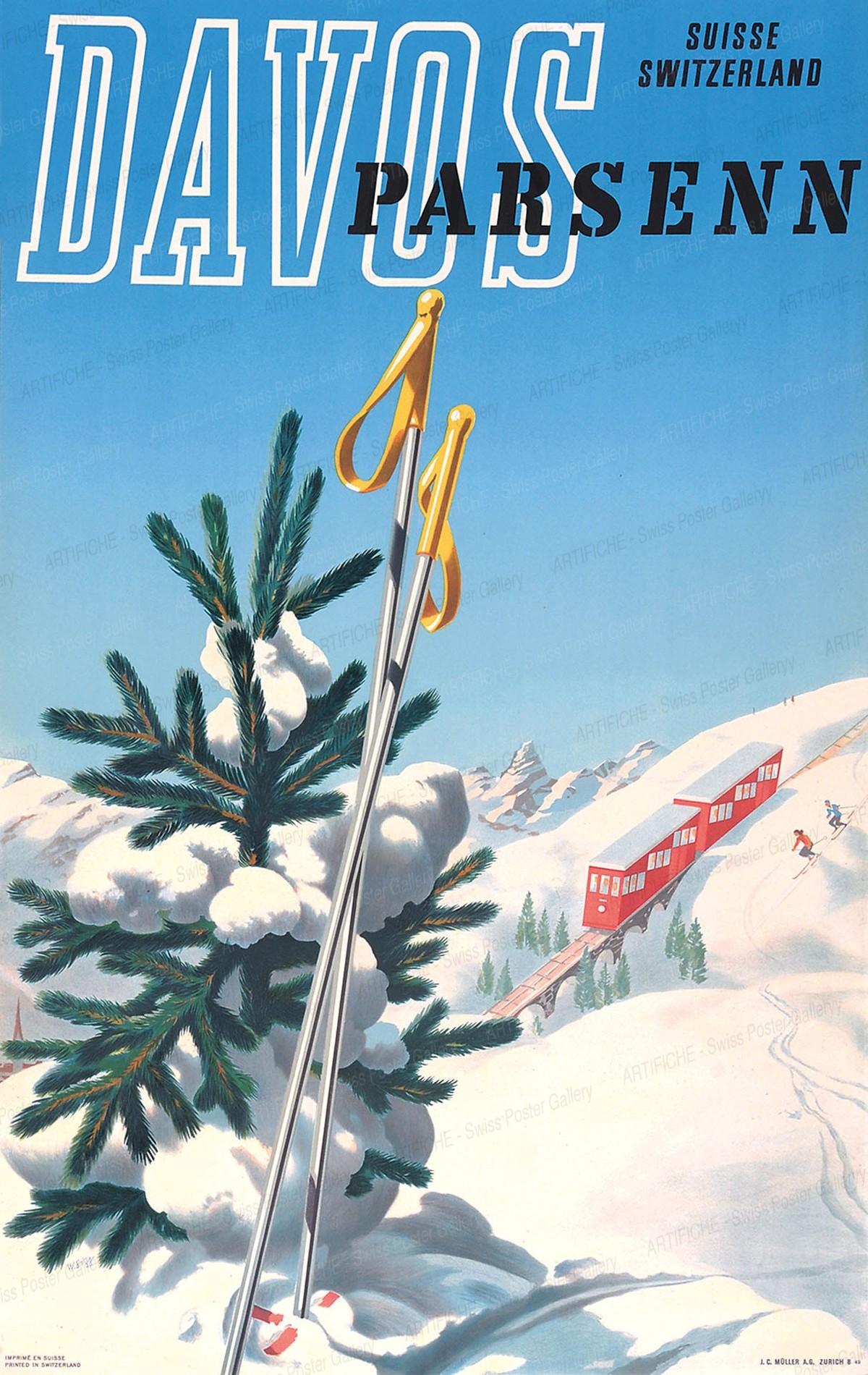 DAVOS Parsenn, Walter Sigg
