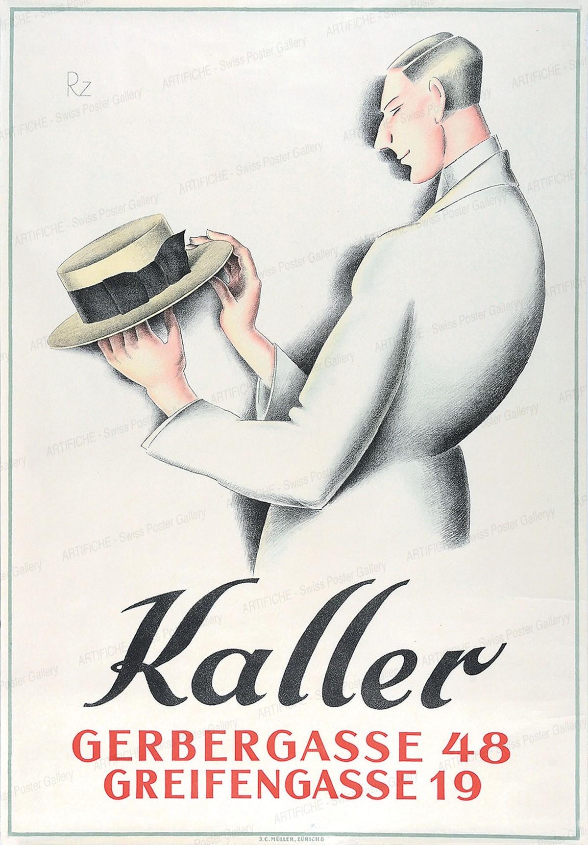 Kaller – Gerbergasse 48 – Greifengasse 19, Ritzmann Jakob