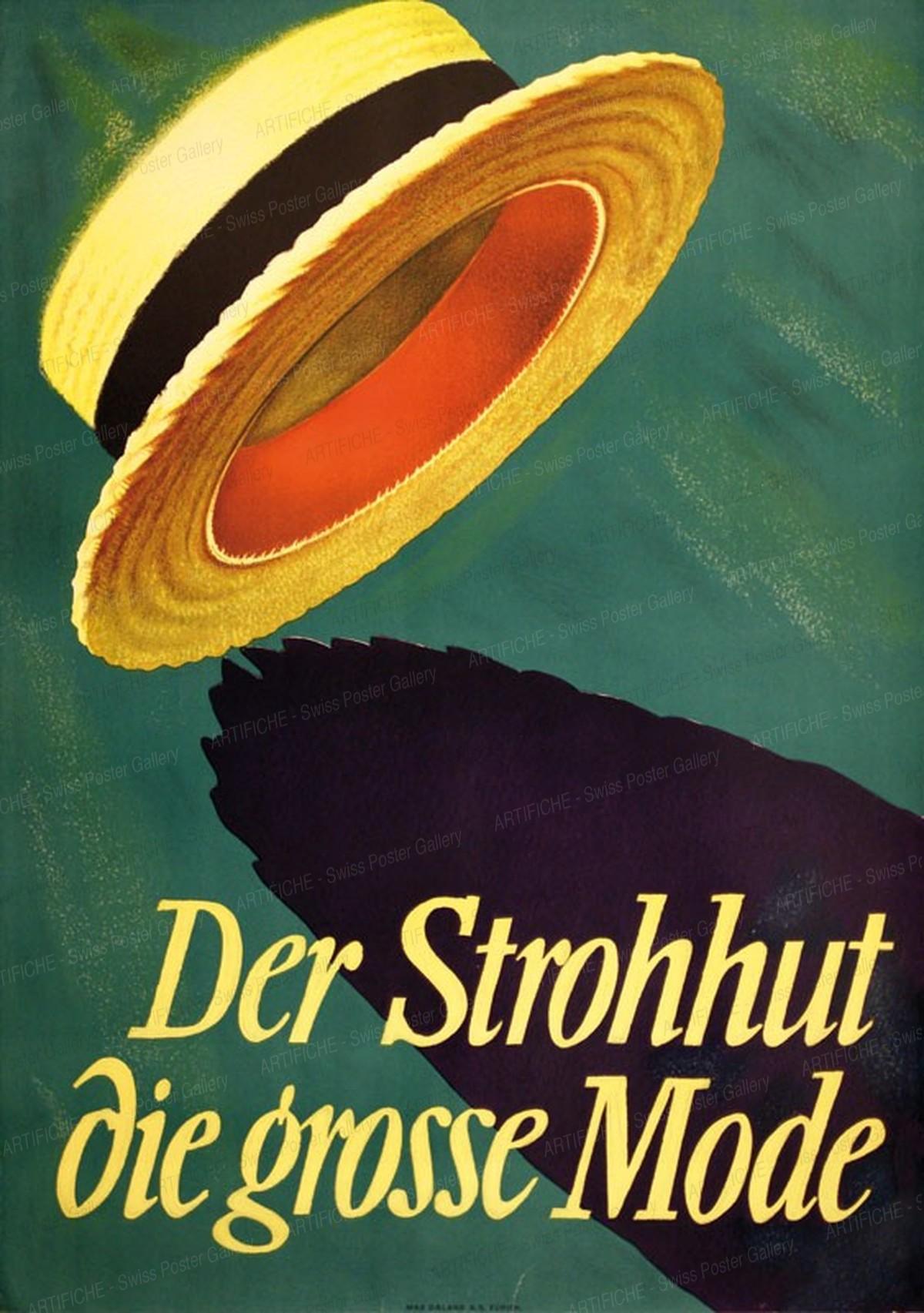 Der Strohhut – Die grosse Mode, Max Dalang