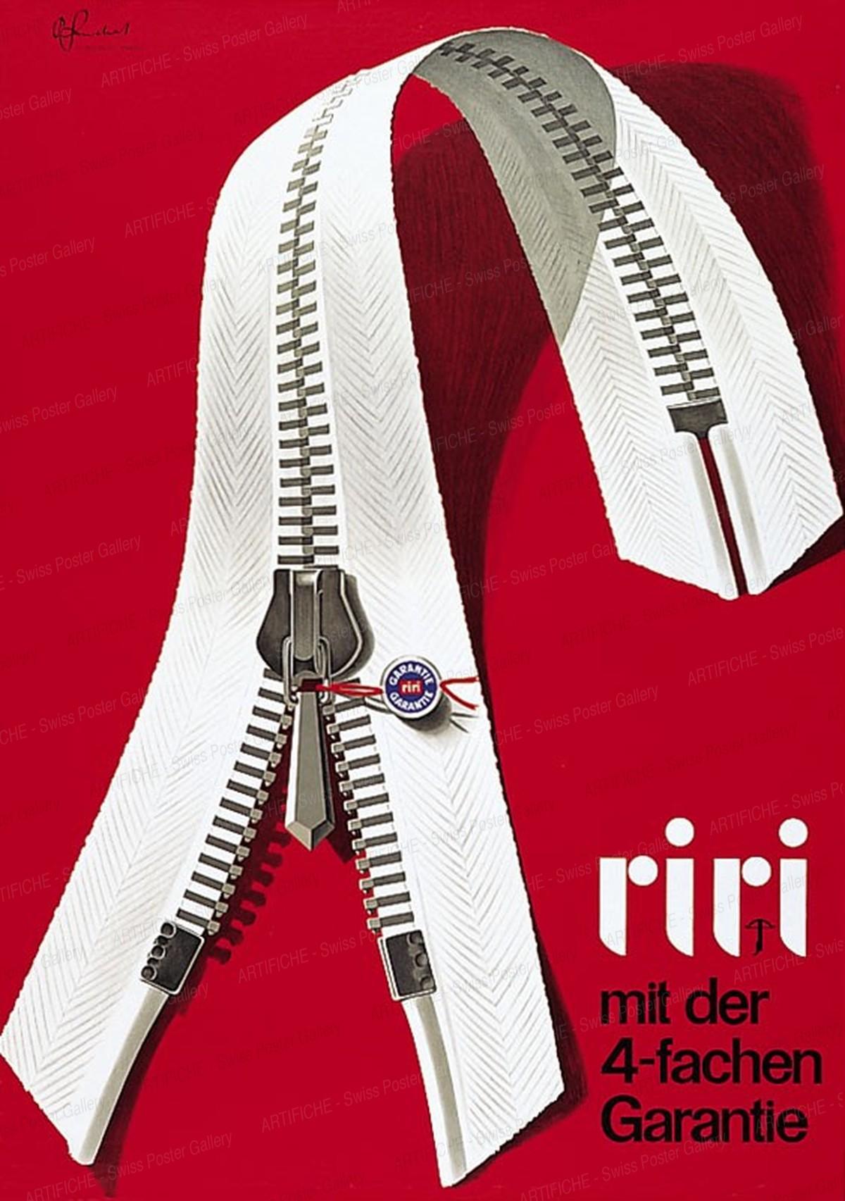Riri – mit der 4-fachen Garantie, Pierre Gauchat