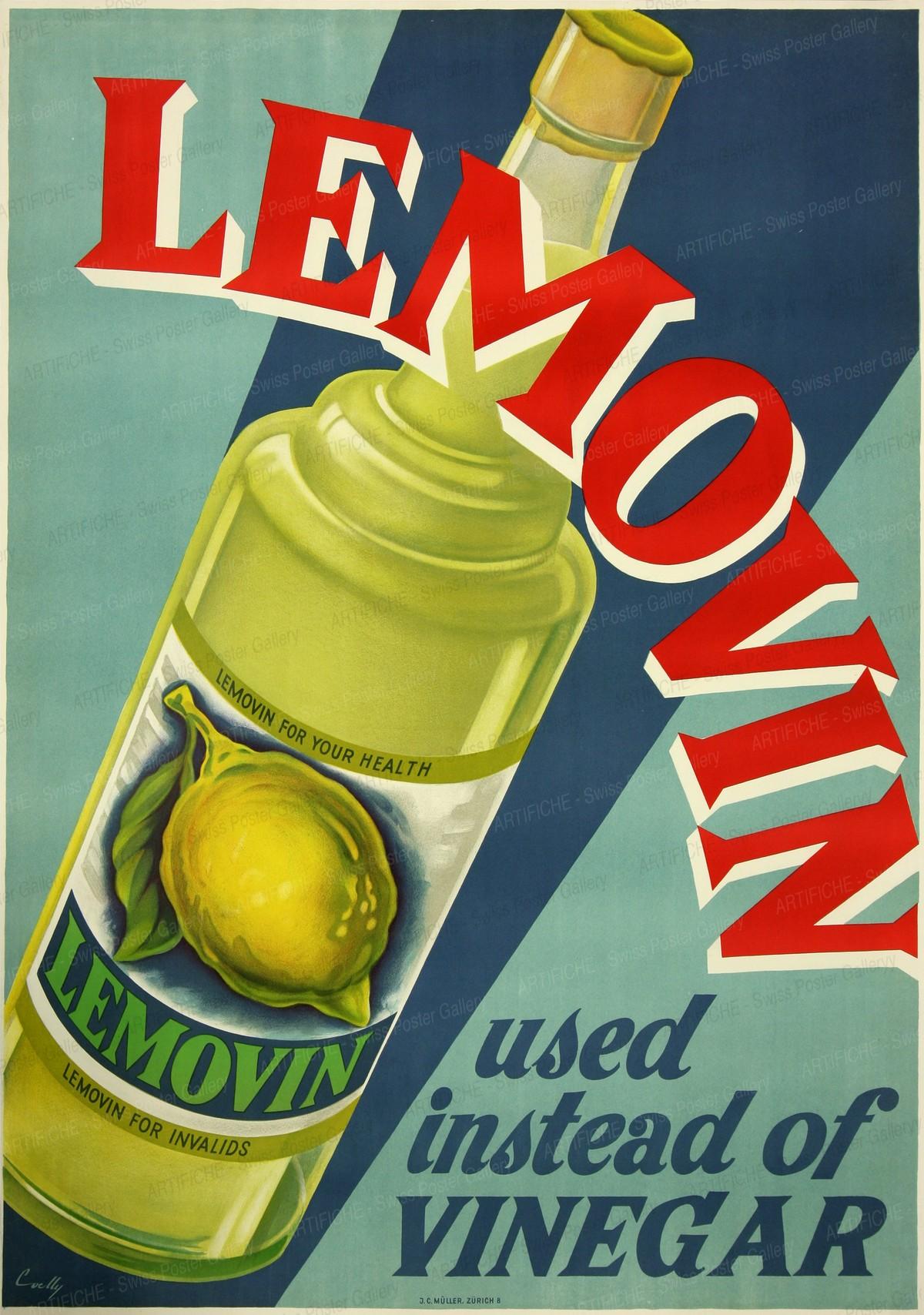 LEMOVIN – used instead of vinnegar, Hermann Alfred Koelliker